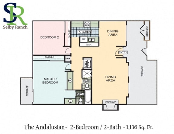Floor Plan  The Andalusian