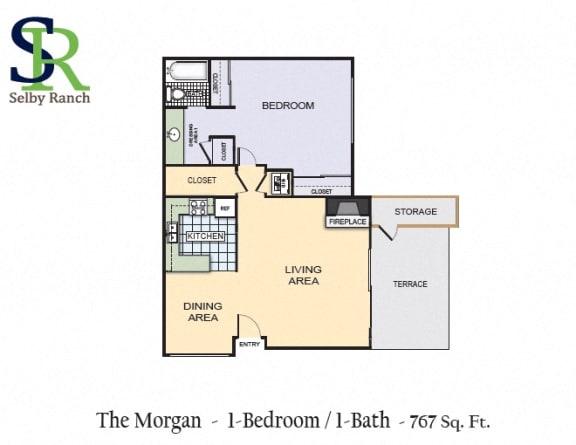 Floor Plan  The Morgan