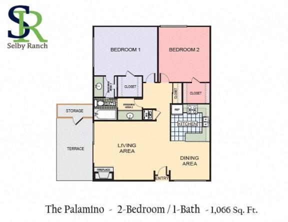 Floor Plan  The Palomino
