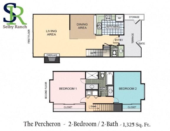 Floor Plan  The Percheron