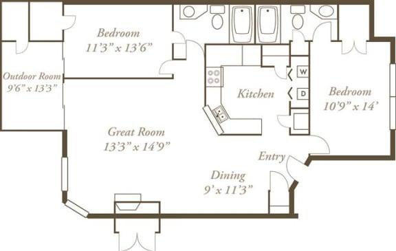 Floor Plan  The Ottawas
