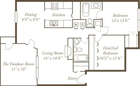 Floor Plan  The Shawnee
