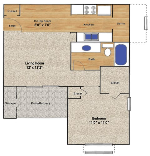 Floor Plan  Willowgate