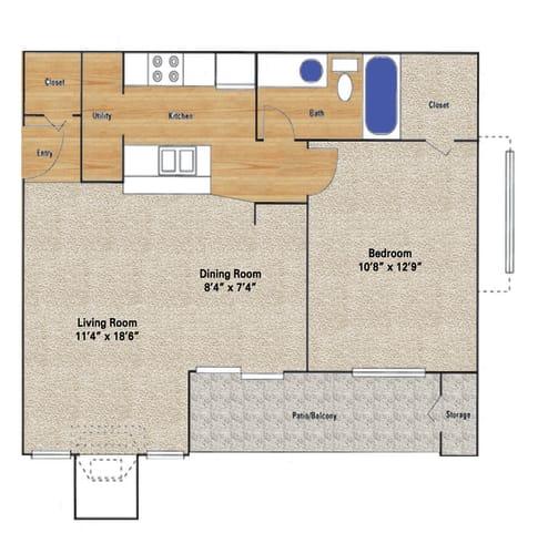 Floor Plan  Midway