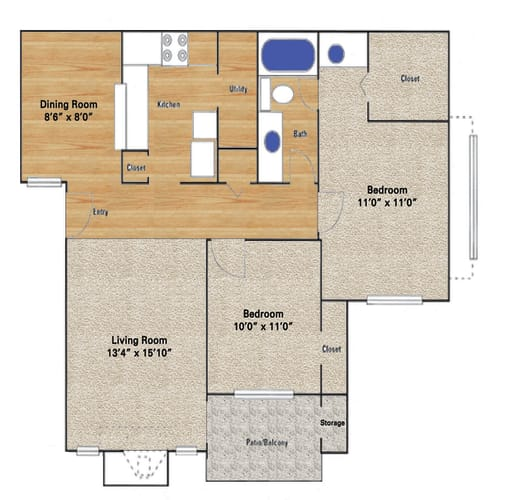 Floor Plan  Briargrove
