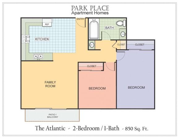 Floor Plan  Atlantic