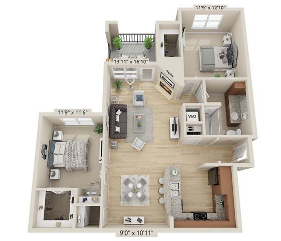 Floor Plan  Beaver Creek