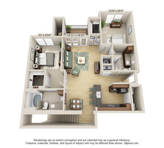 Floor Plan  Breckenridge