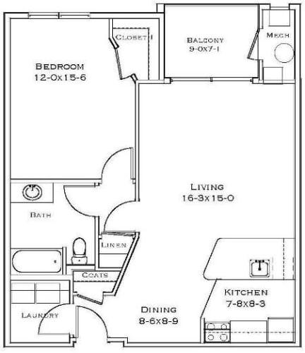 Floor Plan  Barberry