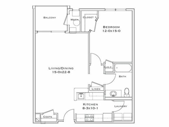 Floor Plan  Azalea