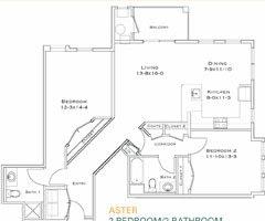 Floor Plan  Aster