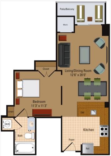 Floor Plan  Studio - S1