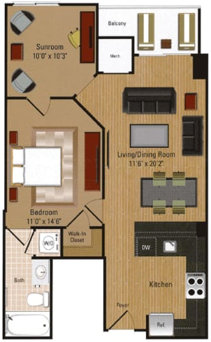 Floor Plan  Penthouse - A3D