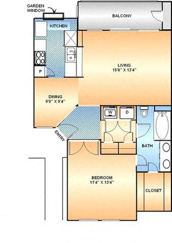 Floor Plan  Lily