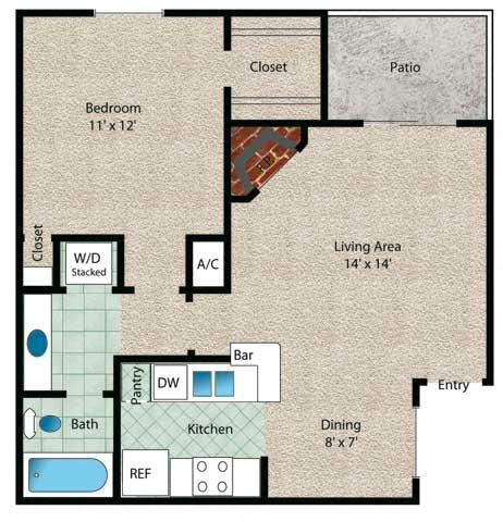 Floor Plan  Bahamas