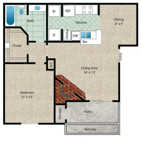 Floor Plan  Barbados