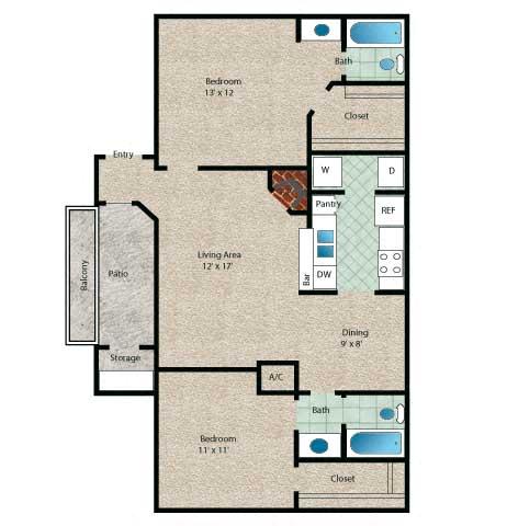 Floor Plan  Tahiti