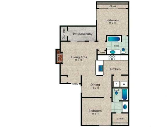 Floor Plan  Dalton