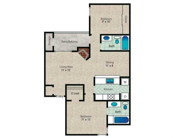 Floor Plan  Callista