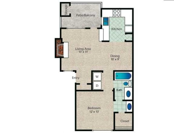 Floor Plan  Braxton