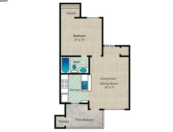 Floor Plan  Addison