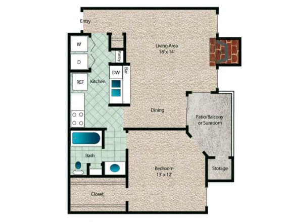 Floor Plan  Redwood