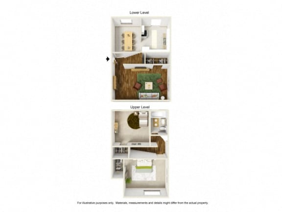 Floor Plan  Boyle Heights, Los Angeles CA Apartments for Rent - Wyvernwood | townhouse