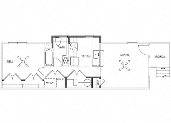 Floor Plan  Riverwoods at Denton Floor Plan D1