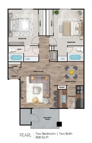 Floor Plan  Pearl