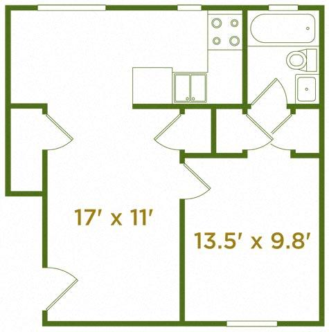 Floor Plan  The Langdon
