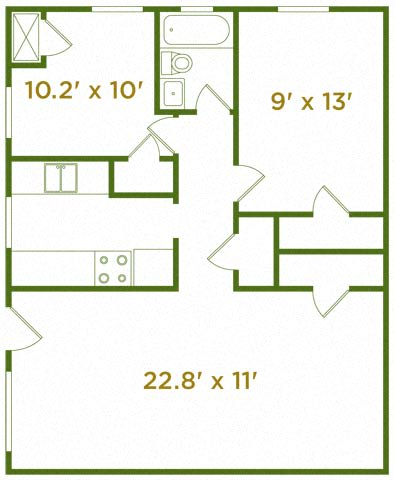 Floor Plan  The Oakleaf