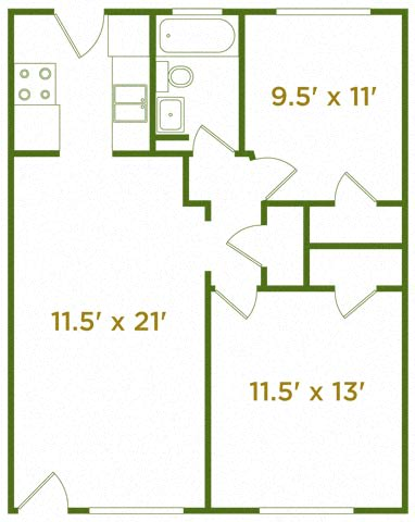Floor Plan  The Ridgecliff