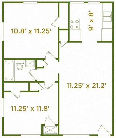 Floor Plan  The Silverleaf
