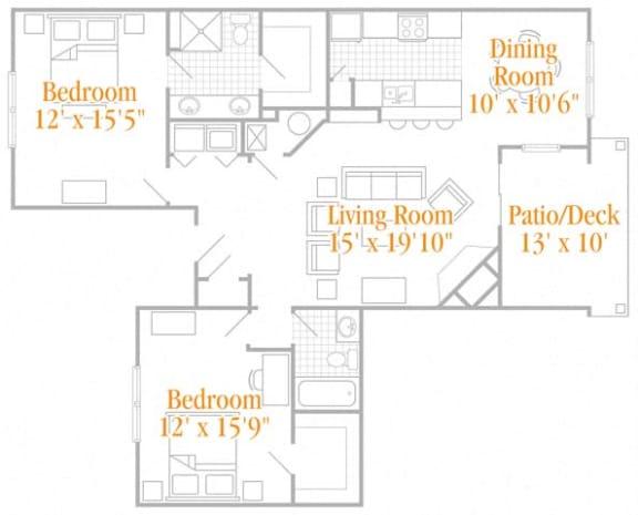 Floor Plan  The Enclave II