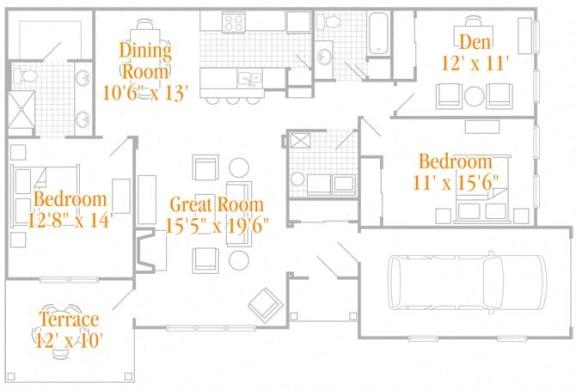 Floor Plan  The Wadsworth