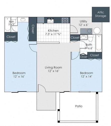Floor Plan  The Hadley