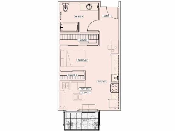 Floor Plan  A-AHC