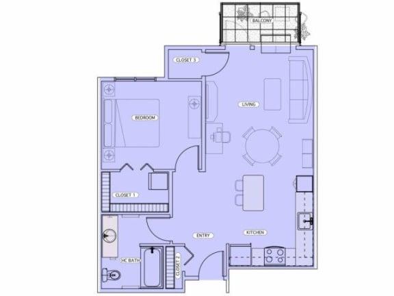 Floor Plan  D4