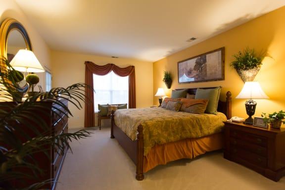 Floor Plan  Two Bedroom and Den