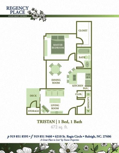 Floor Plan  Tristan