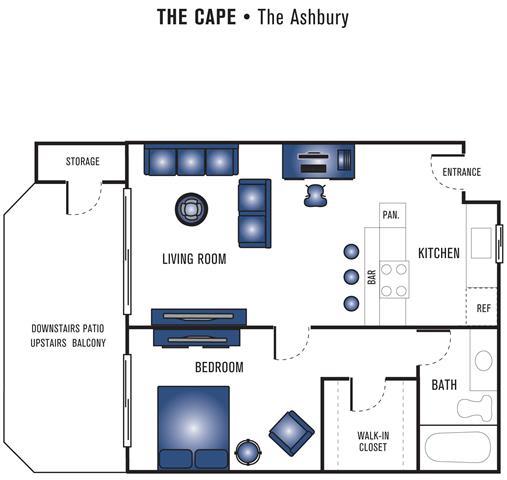 Floor Plan  The Ashbury