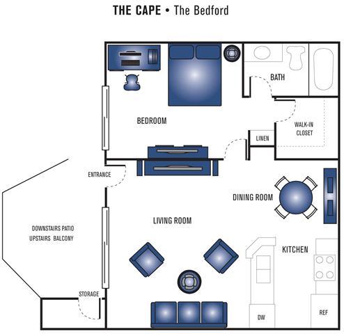 Floor Plan  The Bedford