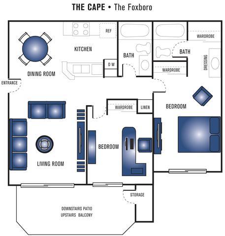 Floor Plan  The Foxboro