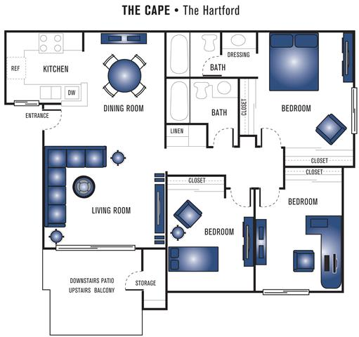Floor Plan  The Hartford
