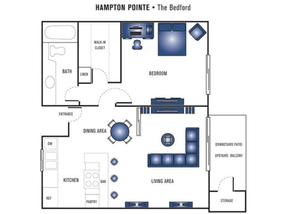 Floor Plan  Bedford