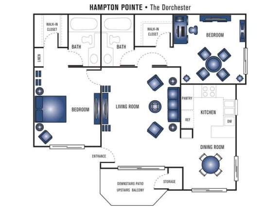 Floor Plan  Dorchester