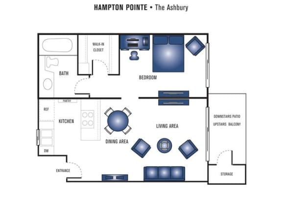 Floor Plan  The Ashbury