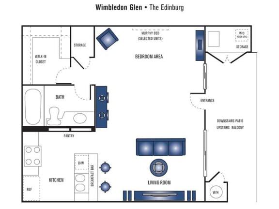 Floor Plan  The Edinburg