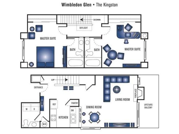 Floor Plan  The Kingston