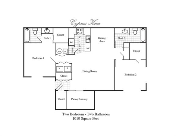 Floor Plan  Cypress Knee